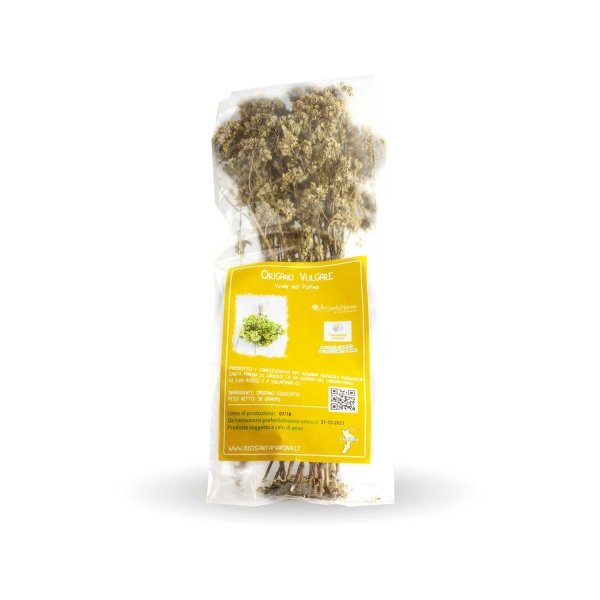 Dried Oregano 'Viride del Pollino' breed